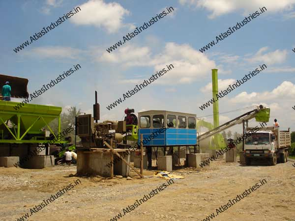 hot mix plants supplied to Philippines
