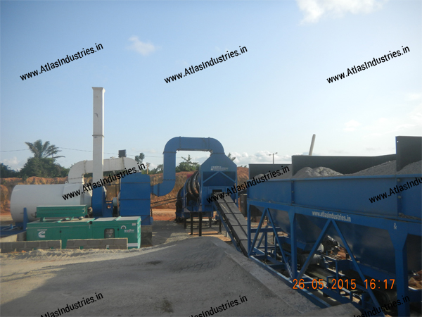 counterflow asphalt mixing plant supplier India