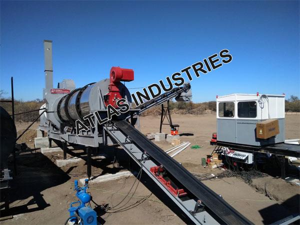 Mobile asphalt plant exporter Botswana