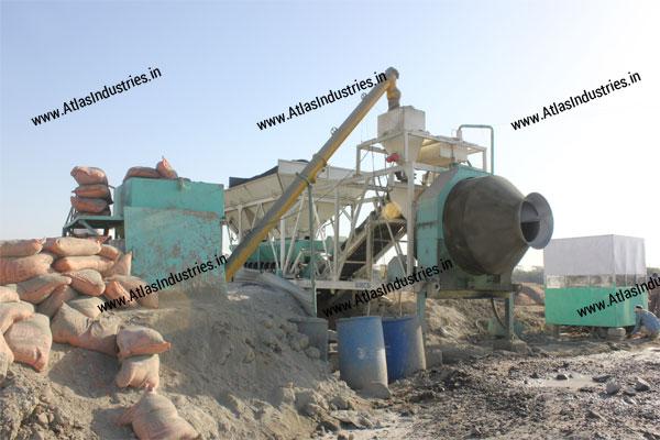 portable concrete mixer India