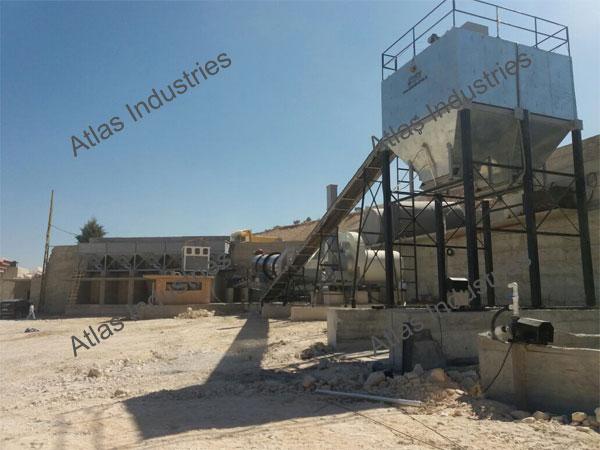 Asphalt Drum Mix Plant In Lebanon 90 120 Tph