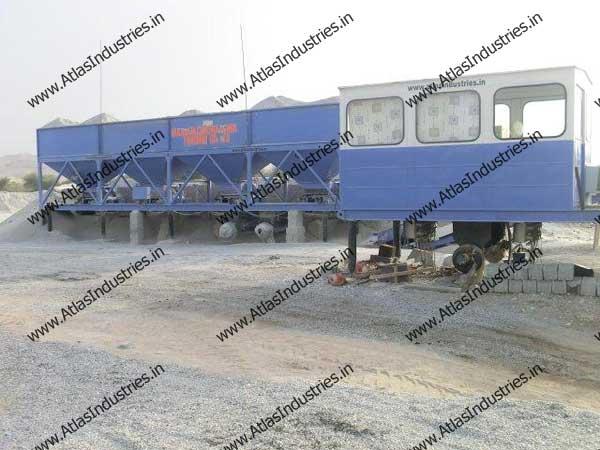 continuous asphalt plant