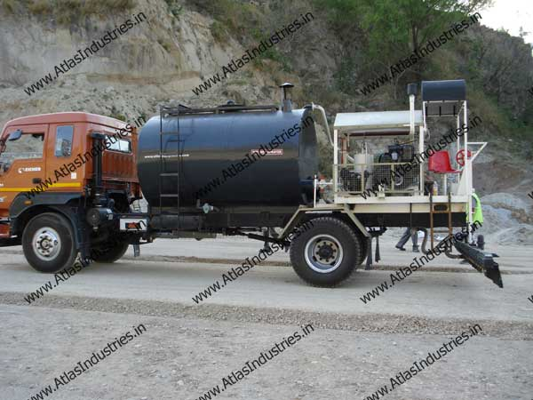 Bitumen Sprayer In Jammu Kashmir India Photo Gallery Atlas Industries