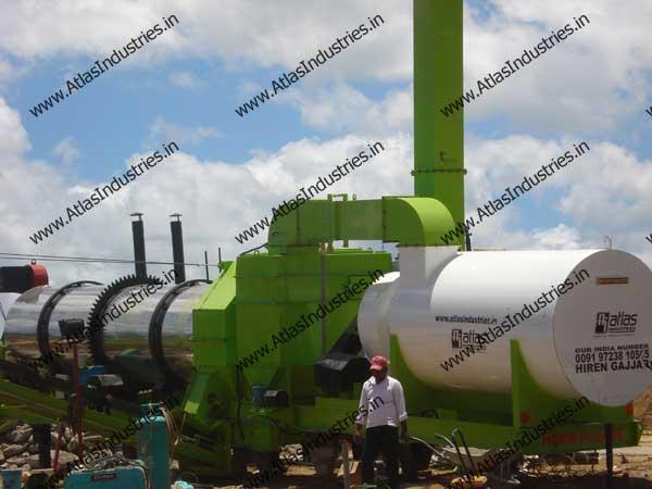 continuous mix asphalt plant