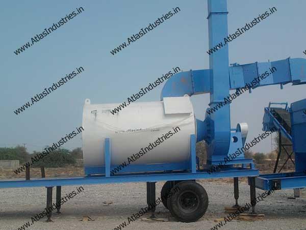 continuous asphalt mix plant manufacturers