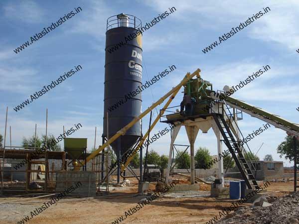 portable concrete batch plant