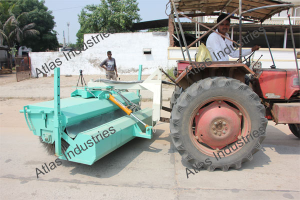 Hydraulic road sweeper supplier Nepal