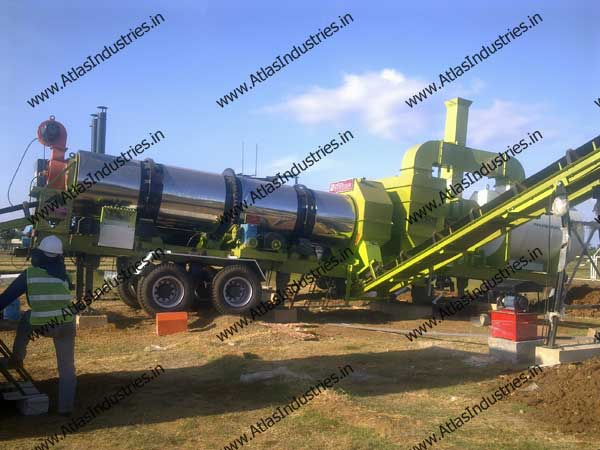 asphalt plant for sale India