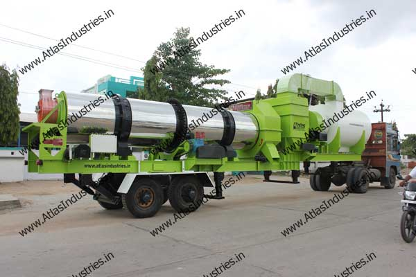 Portable Asphalt Plant Supplied To Philippines By Indian