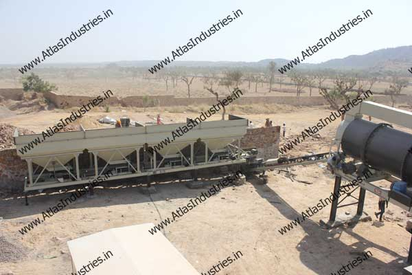 double drum type asphalt mixing plant exporter