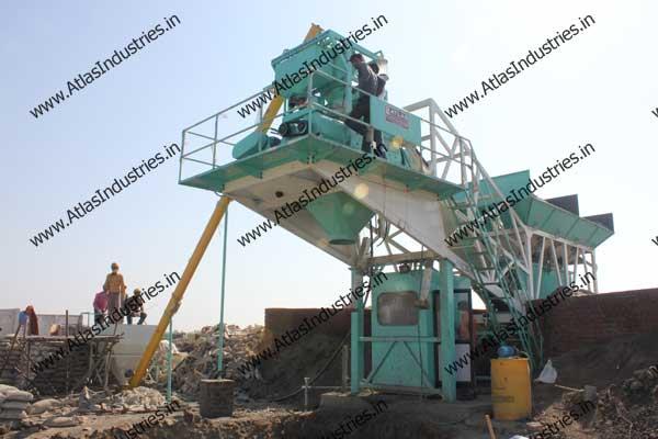 portable concrete batch plant India
