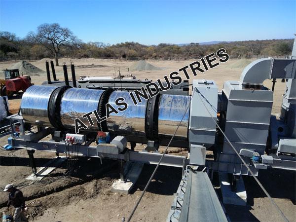 Mobile asphalt mixer manufacturer Botswana