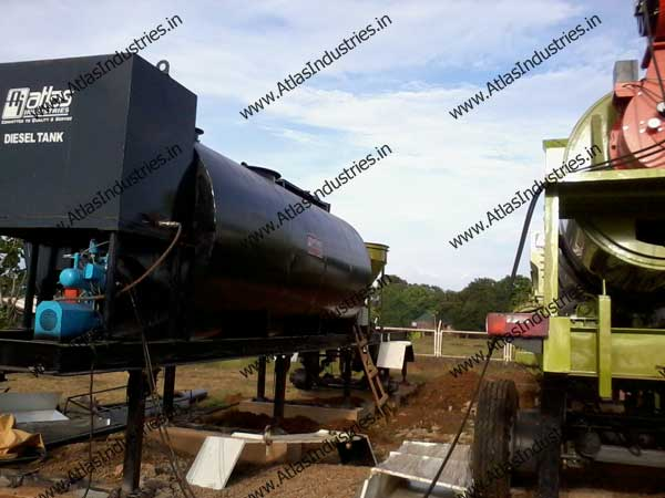 hot mix asphalt plants exporter India