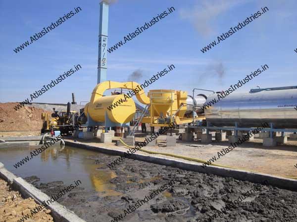 asphalt continuous plant