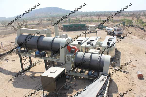 manufacturer of double drum type asphalt mixing plants