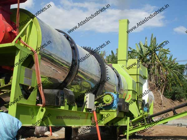 asphalt mixing plant exporters from India