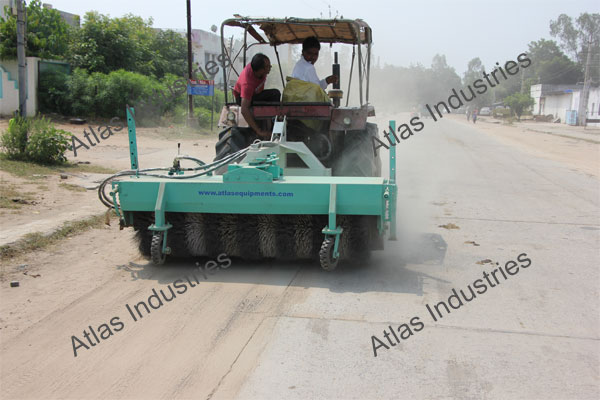 For sale hydraulic road sweeper in Nepal