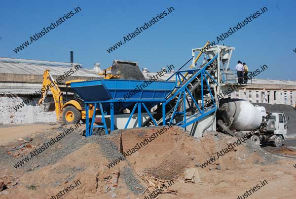 mobile RMC plant exporter