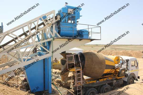 mobile concrete batch plant manufacturers