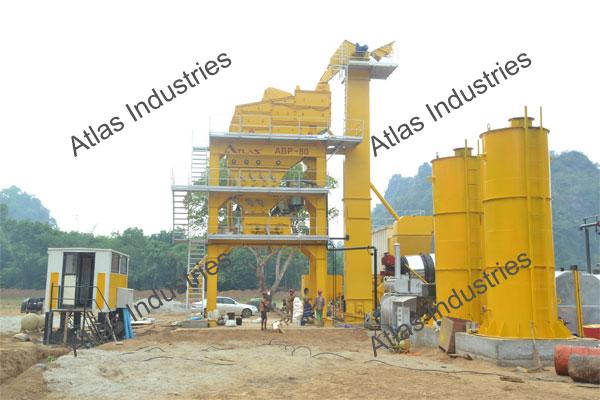 Buy 80 tph asphalt batch plant in Myanmar