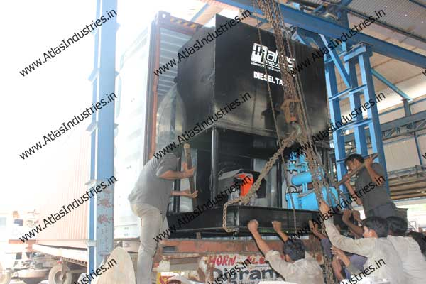 mobile asphalt mix plant India
