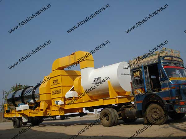 mobile drum mix plant manufacturer