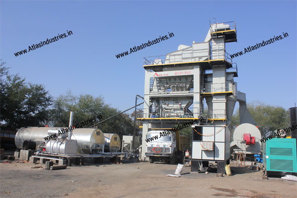 Tower unit of asphalt plant