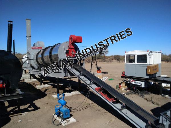 90 120 Tph Mobile Asphalt Plant In Botswana Asphalt Mixer