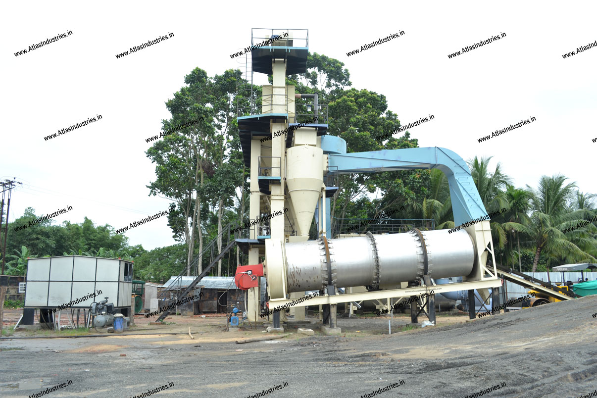 asphalt batch mix plant India