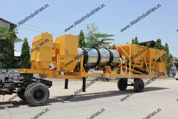 portable drum asphalt plant