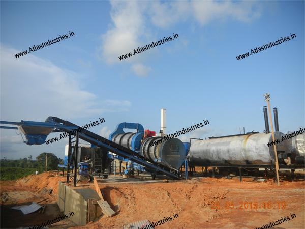 counterflow asphalt mixing plant for sale