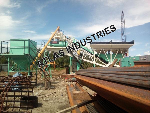 Mobile concrete plant exporter Philippines
