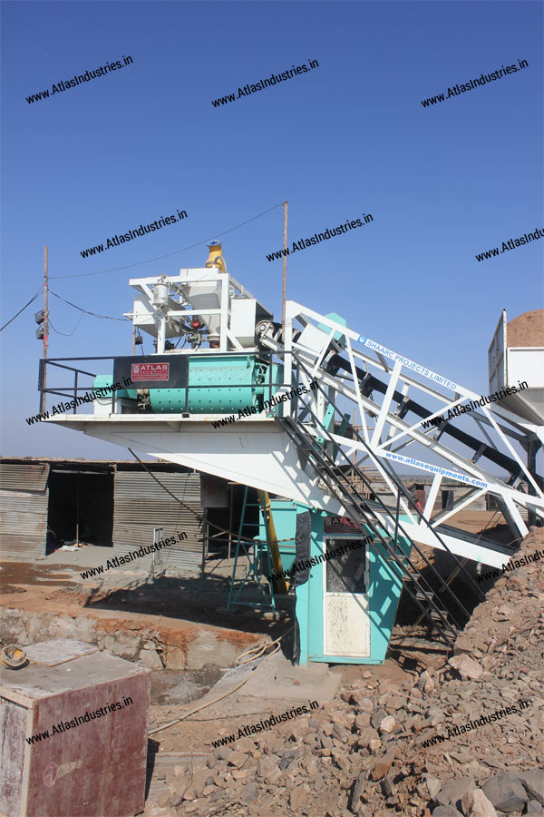 mobile concrete batching plant india