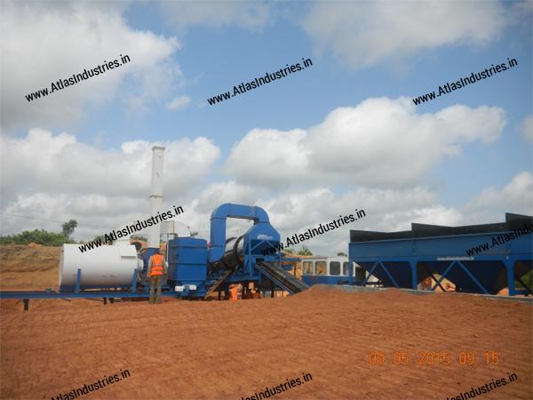 counterflow asphalt mixing plant manufaturer India