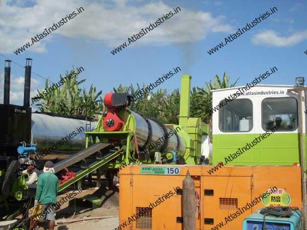 asphalt drum mixing plant exporters in India