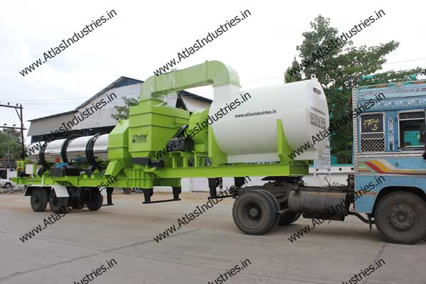 drum mixing plant India