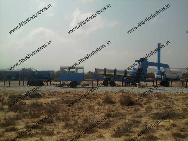 continuous mix asphalt plant from India