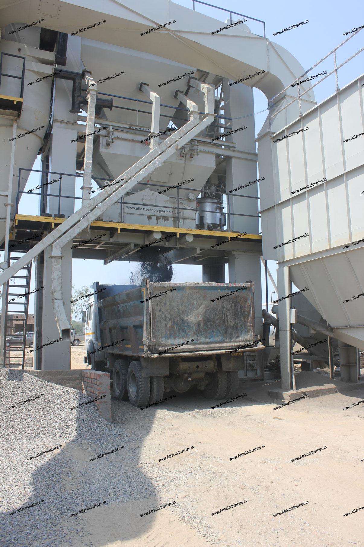 hot mix asphalt plant India