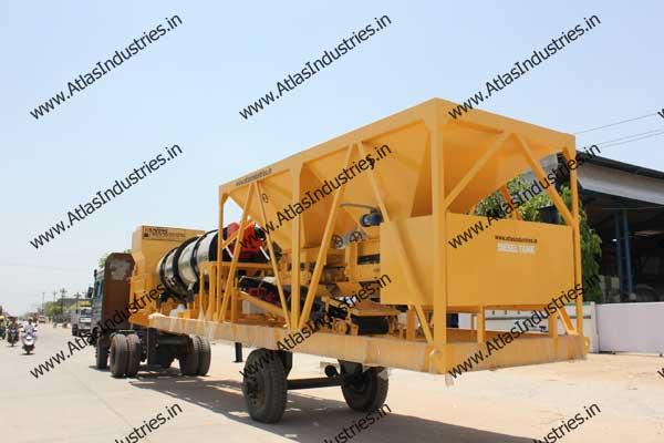 portable asphalt drum mixers manufacturers