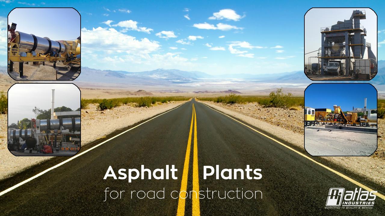 Asphalt plants by Atlas Industries