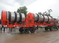 Mobile double drum plant: 90-120 tph