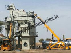 160 tph asphalt batch plant installation