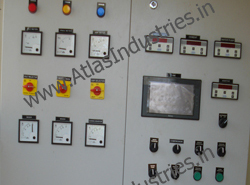 PLC panel for concrete batch plant