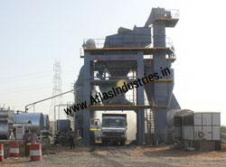 160 tph - asphalt batch mixing plant