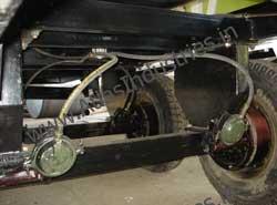 Pneumatic braking system