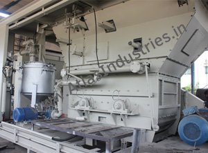 Dispatch of 160 tph asphalt batch mix plant