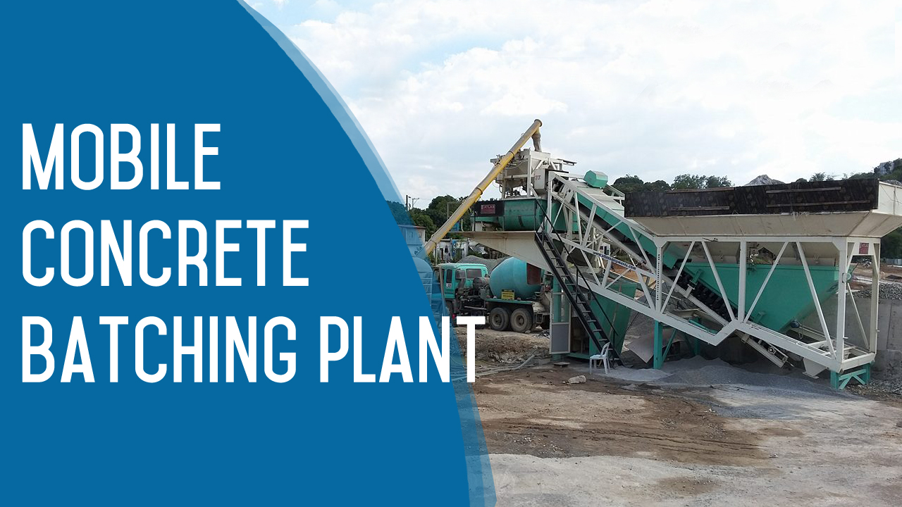 Mobile RMC plant in Philippines