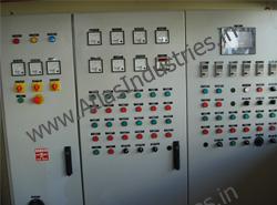 PLC panel for asphalt plant