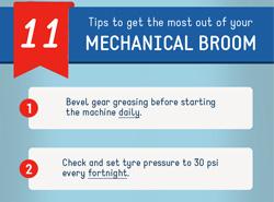 Tips on maintaining mechanical broom