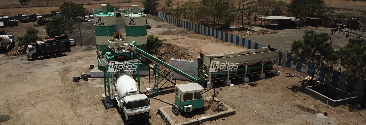 Stationary Concrete Batching Plant - Atlas Industries